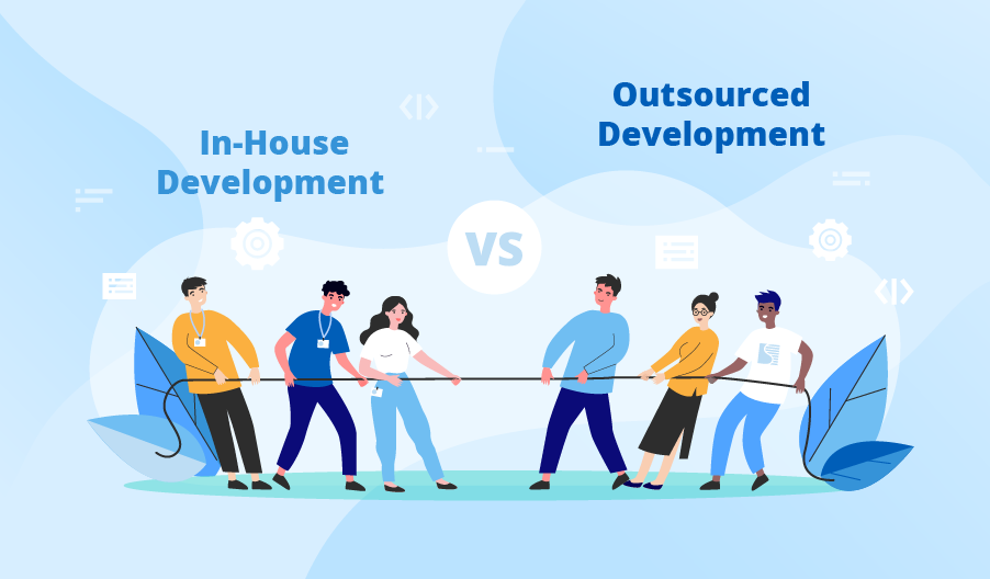 Outsourcing Vs. In-House Development: How to place a strategic investment decision?